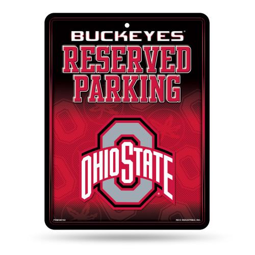 Ohio State Buckeyes Sign Metal Parking