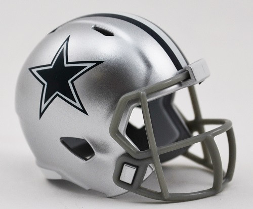 """These incredibly accurate 2"""" reproductions of the real helmets are a great collectible for any fan! Show off your favorite team, conference or collect them all!. Made by Riddell."""