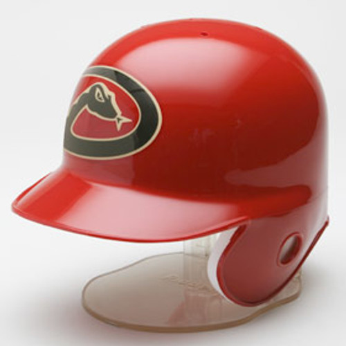 The Riddell MLB Replica Mini Helmet is a half-scale version of your favorite team helmet. Ideal for autographs, it comes in official team colors and logos and includes a display stand. Made by Riddell