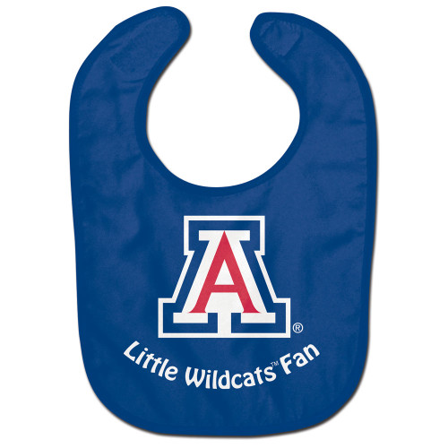 Officially licensed baby bib made of soft terry polyester front and absorbent cotton terry back. It is decorated with a fun full color imprint. Finished with adjustable baby soft hook and loop. Printed in the USA with imported fabric. Made by Wincraft.