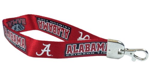 """This sporty and convenient wristlet lanyard holds keys, ticketholders and other important items, right at your fingertips! The NFL lanyard is made of a durable nylon and has a metal lobster clasp. The lanyard is 9"""" long and 1"""" wide. Made By Pro Specialties Group"""