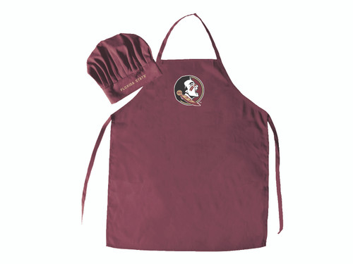 Florida State Seminoles Apron and Chef Hat Set