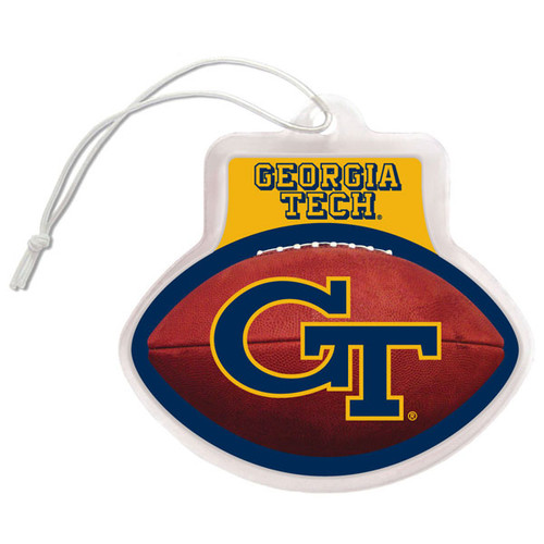 """3"""" x 3"""" ball shaped Gel Air Freshener with long lasting sports scent. Perfect in cars, trucks, suv's, lockers, laundry rooms and any other small space. Made By Team Promark"""