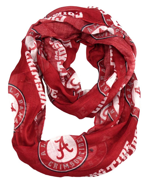 Made from a sheer fabric and printed with your favorite team's logo. This lightweight scarf can be worn in multiple fashion-friendly ways. Made By Little Earth