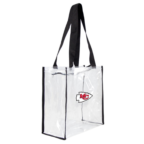 "This stadium tote features a zipper and double shoulder straps. This bag is approved for use in NFL stadiums. The bag displays the ""Stadium Friendly"" tag. Dimensions: 11.5"" x 11.5"" x 5.5"". Made By Little Earth"