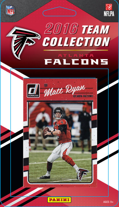 Atlanta Falcons Donruss NFL Team Set - 2016