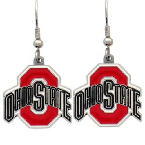 These dangle earrings are fully cast with exceptional detail and a hand enameled finish. The earrings have hypoallergenic fishhook posts. A great way to show off your NFL team spirit!. Made By Siskiyou