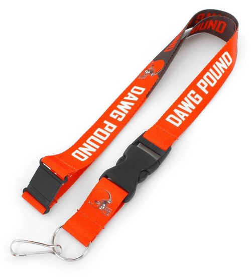 "??You know your favorite team's slogan so make sure everyone else know its with this slogan lanyard?.? Each nylon lanyard measures approximately 22"" in length and is decorated with vibrant sublimated team colored graphics and team slogan. It features a breakaway tab and quick release buckle, ideal for car keys, ID badges and more.? 100% Nylon. Officially licensed."