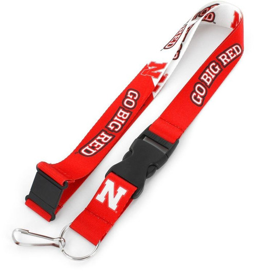 "You know your favorite team's slogan so make sure everyone else know its with this slogan lanyard? Each nylon lanyard measures approximately 22"" in length and is decorated with vibrant sublimated team colored graphics and team slogan. It features a breakaway tab and quick release buckle, ideal for car keys, ID badges and more.? 100% Nylon. Officially licensed."