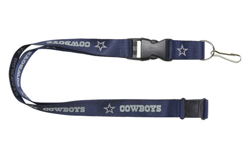 Display your team pride every time you reach for your keys with this Aminco lanyard. Featuring a breakaway tab on the top ensures safe removal, while a quick release buckle allows you to easily separate your keys at a moment's notice. Never stop supporting your team! Made by Aminco.