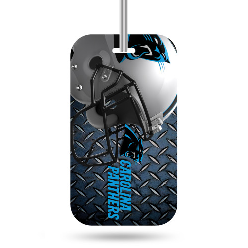 """Identify your luggage as your own with this officially licensed luggage tag. Made with a thick plastic front coat with licensed design and identification form on the back. Tag easily attached to luggage with handy loop through leash. 4.5"""" x 2.5"""". Made by Rico Industries."""