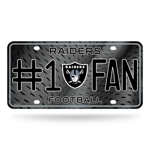 """Show off your team spirit with this aluminum license plate! They are 1/16"""" thick and 6""""x12"""" in size. These are great for the car, or even to display at home or the office. They feature bright, vibrant colors that will catch anyone's eye!. Made By Rico Industries."""