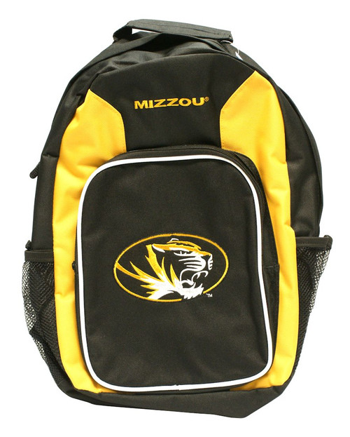 """Show off your pride and loyalty for your team with this Southpaw Backpack. Officially licensed, this backpack is made of polyester and durable nylon with nylon accents, and it breathes and cleans easily. This backpack is accented with a felt team logo applique on the front. It features adjustable padded shoulder straps and is designed with a cell phone and MP3 holder. Inside there is a front pocket organizer with a key ring holder and CD/MP3 holder with a headphone port on top, so you can easily listen to your favorite tunes. It has a top handle for easy one-handed carrying. This backpack measures 18"""" high, 8.5"""" wide and 6.5"""" deep, making it an ideal mid-sized bag for younger or older kids. It's also ideal for adults who want a smaller, lightweight carrying bag. Made By Concept One Accessories"""