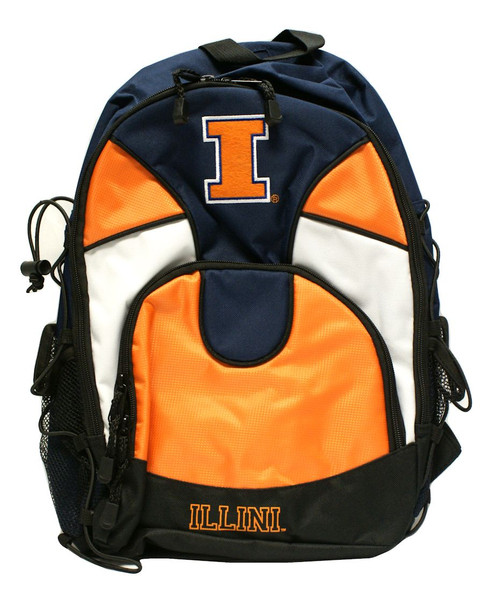 "This officially licensed durable 600D poly back pack is approximately 20"" in height by 13"" wide and 6"" deep. It features an embroidered main logo, printed team wordmark, reflective piping, a mesh cellphone pocket on the backstrap, and an audio pocket and cord port. The back pack also has a laptop compartment and an interior organizer. Made By Concept One Accessories"