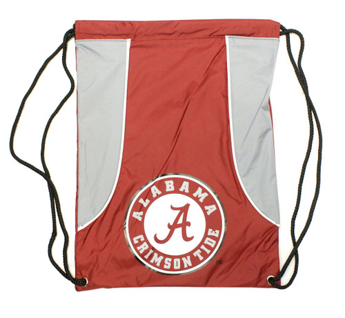 "This high density backsack features your favorite teams screenprinted logo and team colors. It is made of a durable water resistant 210D nylon, has extra strength cording and reinforced strap corners. The bag is approximately 18""x13.5"" in size. Made by Concept One Acessories. Made By Concept One Accessories"