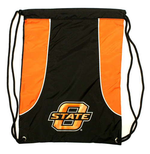 """This high density backsack features your favorite teams screenprinted logo and team colors. It is made of a durable water resistant 210D nylon, has extra strength cording and reinforced strap corners. The bag is approximately 18""""x13.5"""" in size. Made by Concept One Acessories. Made By Concept One Accessories"""