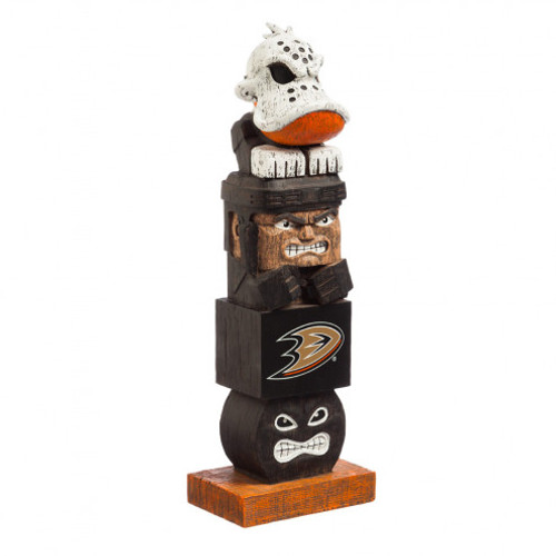 "Everyone will want to add this decorative tiki totem to their garden or gameday decor! Inspired by the original Hawaiian style tiki totems, this polystone handpainted sports themed totem shows your team spirit in every element. From the mascot top to the player base and everything in between, we're sure to have your friends and neighbors begging to know just where you got this unique product! Approximately 16"" tall. Made by Evergreen Enterprises."
