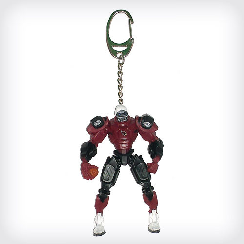 This 3 Inch Mini Cleatus Team Robot Keychain is made of durable plastic and has a spring loaded keyring. Decorated with the logo and colors of your favorite team. Made by FanFave.