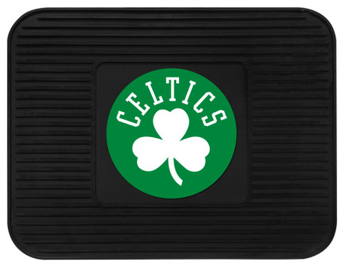 "Boast your team colors with utility mats by FANMATS. High quality and durable rubber construction with your favorite team's logo permanently molded in the center. Non-skid backing ensures a rugged and safe product. Due to its versatile design utility mats can be used as automotive rear floor mats for cars, trucks, SUVs or workbench mats. 14"" x 17"". Made By Fanmats"