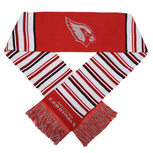 """This officially licensed scarf is a great way to stay warm while supporting your favorite team. It features vibrant team colors, the team name and logo. Measures approximately 6""""x60"""". Made of 100% acrylic. Made By Forever Collectibles"""