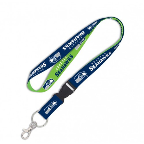 Seattle Seahawks Lanyard with Detachable Buckle
