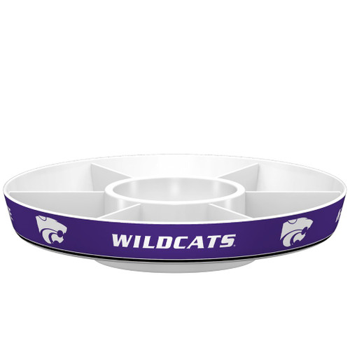 Kansas State Wildcats Platter Party Style