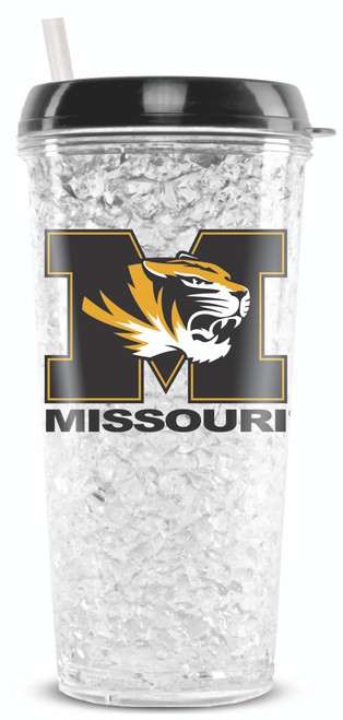 Missouri Tigers Tumbler Crystal Freezer Style Special Order