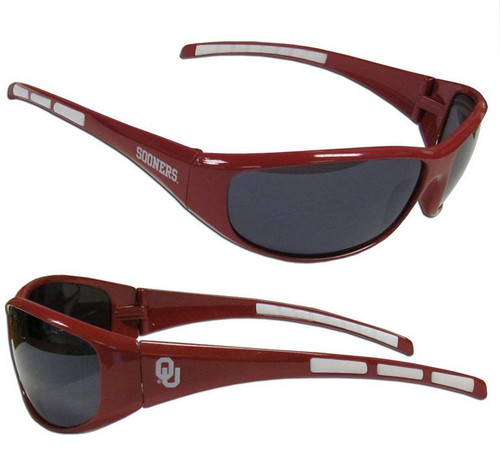 Oklahoma Sooners Sunglasses Wrap Style Special Order