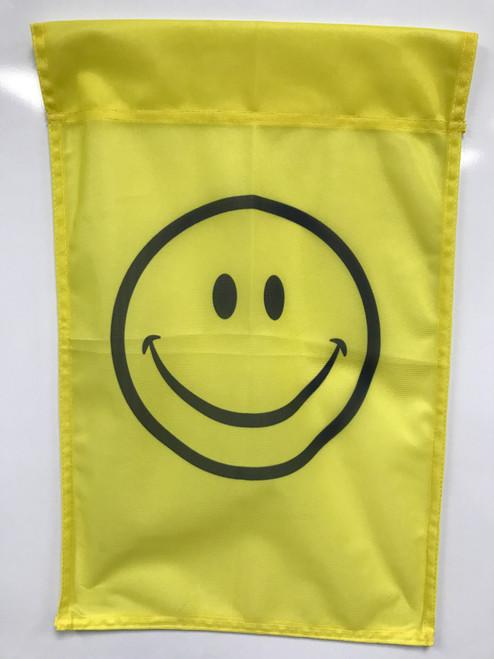 Smiley Face Flag 12x18 Garden Style
