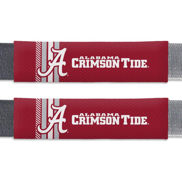 Alabama Crimson Tide Seat Belt Pads Rally Design