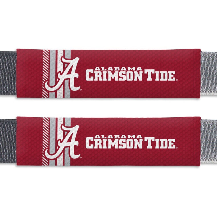 Alabama Crimson Tide Seat Belt Pads Rally Design