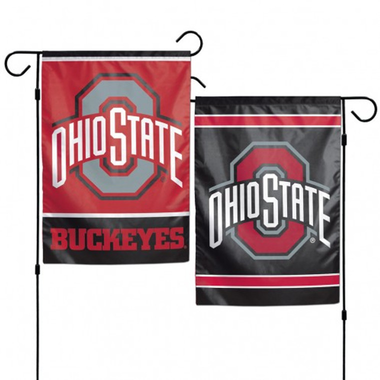 "These garden flags are a great way to show who your favorite team is, and also makes a great gift! They are a great addition to any yard or garden area. They are 12""x18"" in size, are made of a sturdy polyester material, and feature bright eye-catching graphics. Pole not included. Made By Wincraft, Inc."