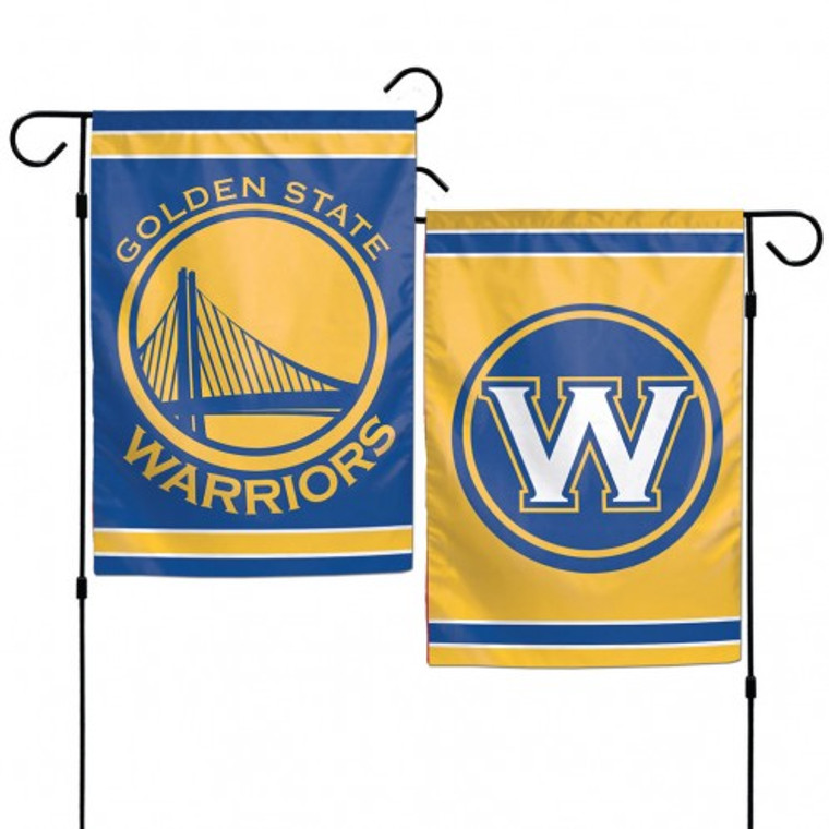 """These garden flags are a great way to show who your favorite team is, and also makes a great gift! They are a great addition to any yard or garden area. They are 12""""x18"""" in size, are made of a sturdy polyester material, and feature bright eye-catching graphics. Pole not included. Made by WinCraft. Made By Wincraft, Inc."""