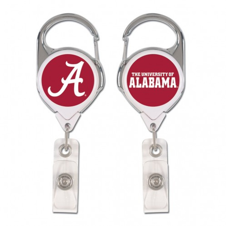 """Officially licensed NFL premium badge holders are a great item for those who are required to wear ID badges. The carabiner style metal clip allows for easy attachment. These 2 1/2"""" premium badge holders feature an anti-rotational cord that measures 34"""" and have a domed decoration on both sides. Made By Wincraft, Inc."""