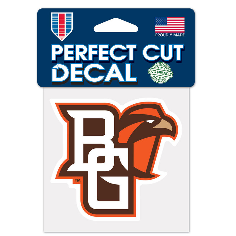 Bowling Green Falcons Decal 4x4 Perfect Cut Color Special Order