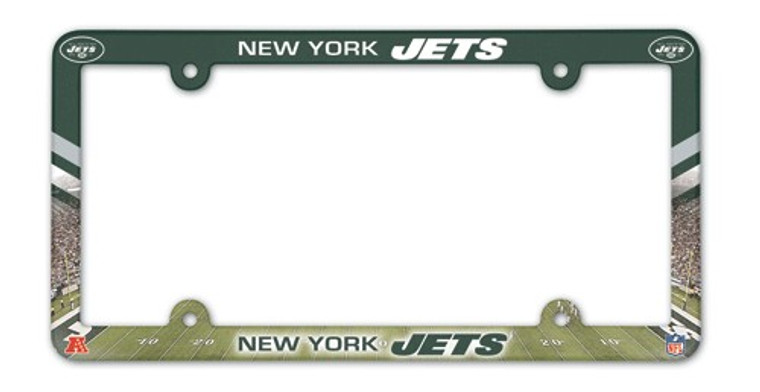 <span>Full Color License Plate Frame for a standard car license plate, front or back; is molded in durable plastic and top surface printed with a durable ink on the entire surface. The design maximizes space for tab sticker clearance. Made in USA. Made by Wincraft.</span>