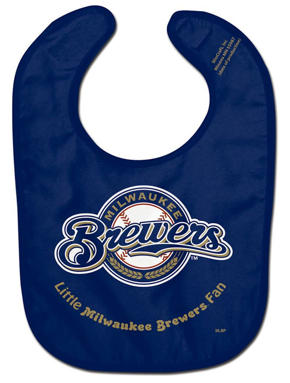Officially licensed NFL baby bib made of two ply soft polyester front and absorbent cotton terry back. It is decorated with a fun full color imprint. Finished with adjustable baby velcro. Printed in the USA with imported fabric. Made By Wincraft.