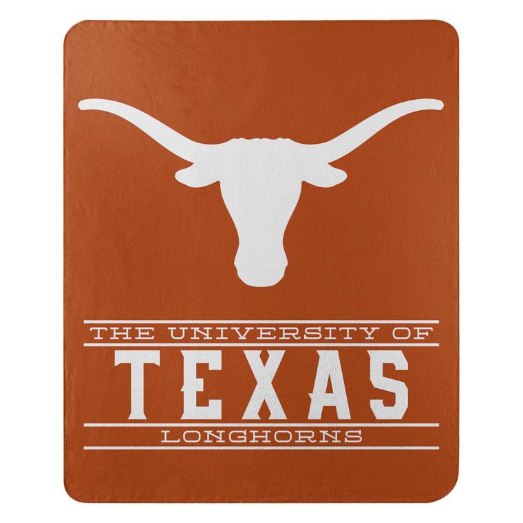 Texas Longhorns Blanket 50x60 Fleece Control Design