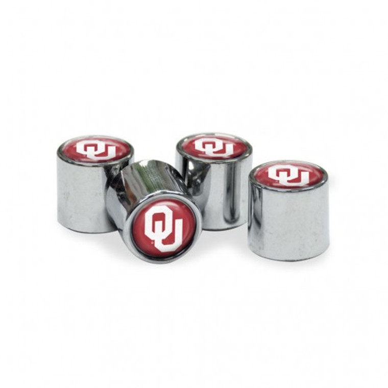 Polyurethane domed insert of your favorite team logo and colors. Carefully twist onto valve stems to replace your current caps. Universal fit. One set of 4. Made by Wincraft.