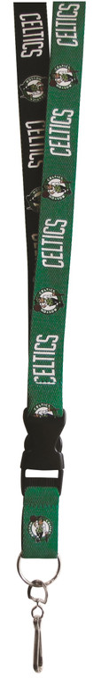 Boston Celtics Lanyard Two Tone Style