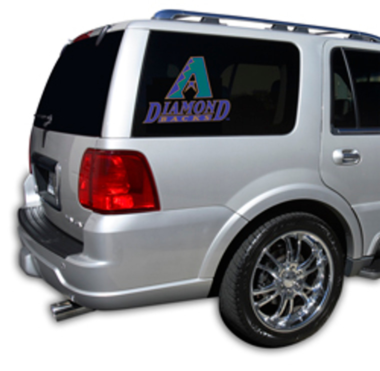 This revolutionary line of Officially Licensed graphical window film is the ultimate vehicle customization! It reduces harmful UV rays and makes the interior temperature cooler. It also features one-way vision film. you can see out, but they can't see in. Made of professional grade material, and is quick and easy to install. Works on most pickups, SUV's, mini vans and many more! . Made By Glass Tatz.