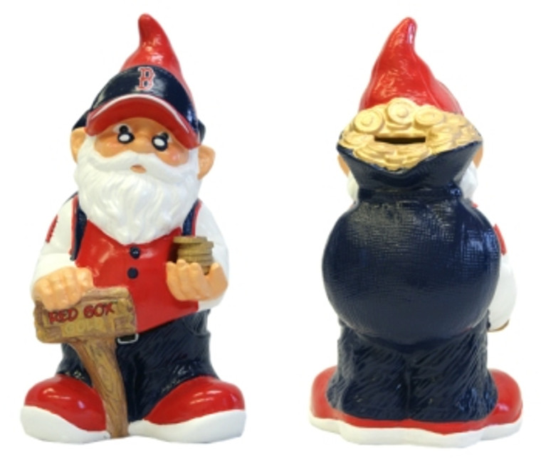 Collect all of your loose change in this one of a kind, officially sports licensed, NFL Gnome Bank. The Forever Collectibles Gnome Bank is 10 inches high is available in your favorite professional and college sports teams. Made by Forever Collectibles.