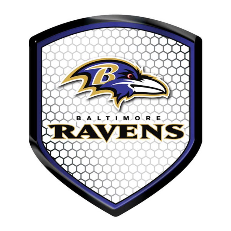 """Display your favorite team with this shield style, high-intensity reflector. Great for cars, trucks, Mailboxes, doors, lockers and anywhere you want to show off your team pride. Made in the USA. Measures 2.5"""" x 3.5"""". Made By Team Promark"""