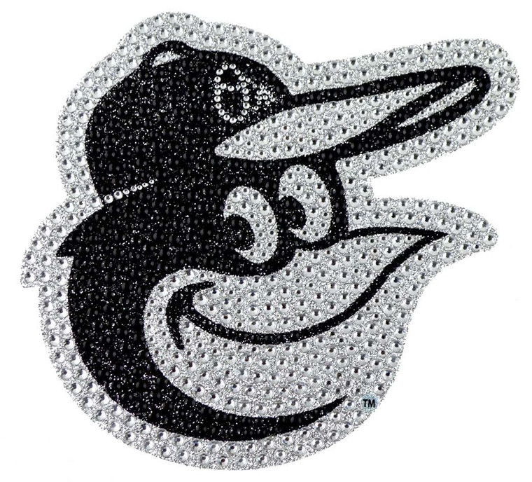 This is a flexible emblem with an adhesive backing for placement on hard surfaces. The emblem incorporates rhinestones and glitter to give an amazing bling look. Approximate 6.25in x 6.25in. Made By Team Promark.