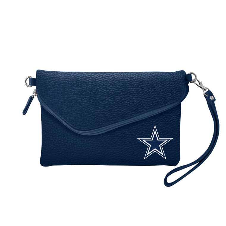 Soft faux leather. Wristlet and shoulder strap. Decorated in full color with the logo of your favorite team. Measures approximately 9x6x1 inches. Made by Little Earth.