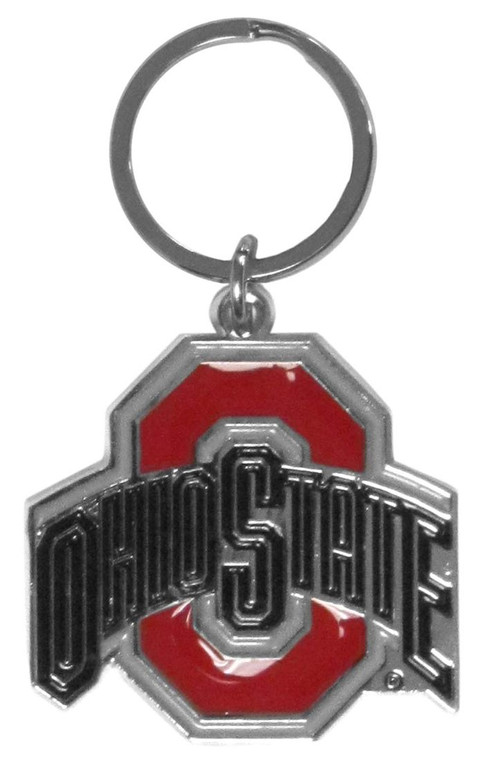 "Our chrome key chain is logo cut and enamel filled with a high polish chrome finish. The keychain is approximately 6""x2"" in size, and the team logo is approximately 1.25""x2"" in size. Made By Siskiyou"