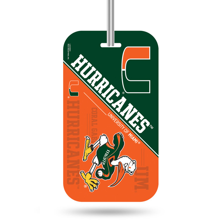 "Identify your luggage as your own with this officially licensed luggage tag. Made with a thick plastic front coat with licensed design and identification form on the back. Tag easily attached to luggage with handy loop through leash. 4.5"" x 2.5"". Made by Rico Industries."