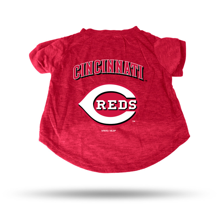 These high-quality 100% combed cotton pet tee's feature your favorite team's logo. Made by Rico Industries.