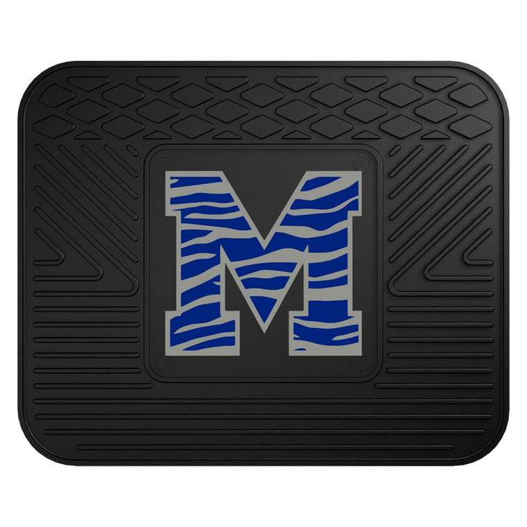 <span>Boast your team colors with this utility mat. High quality and durable rubber construction with the logo of your favorite team permanently molded in the center. Non-skid backing ensures a rugged and safe product. Due to its versatile design utility mats can be used as automotive rear floor mats for cars, trucks, and SUVs, door mats, or workbench mats. Made by FanMats.</span>