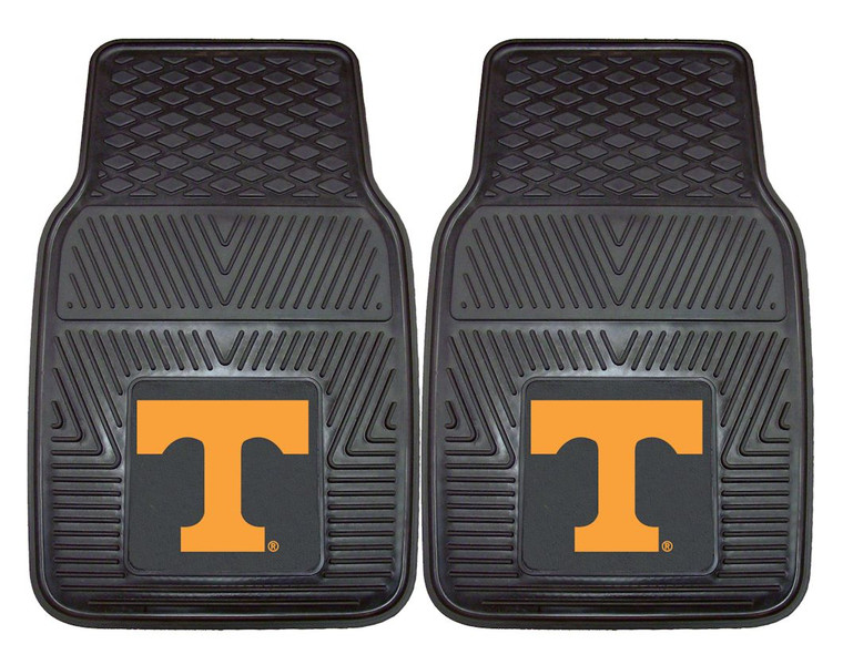 Boast your team colors with utility mats by FANMATS. High quality and durable rubber construction with your favorite team's logo permanently molded in the center.  Non-skid backing ensures a rugged and safe product.  Due to its versatile design utility mats can be used as automotive rear floor mats for cars, trucks, and SUVs, door mats, or workbench mats. Made By Fanmats